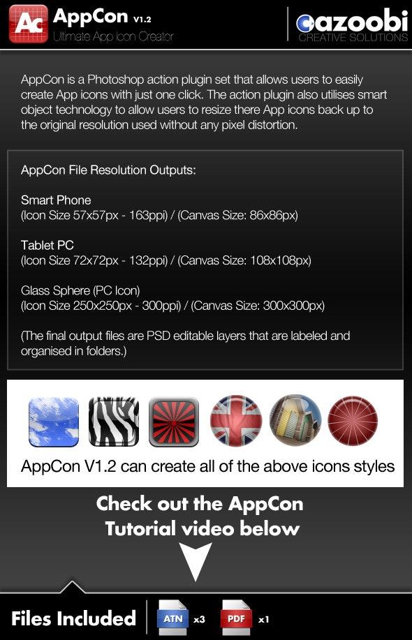 AppCon App Icon Creator - Utilities Actions
