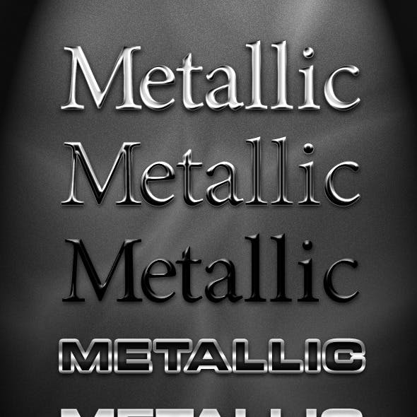 5 Realistic Metal Styles