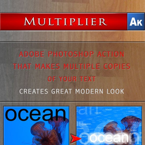 Multiplier - Action for Adobe Photoshop
