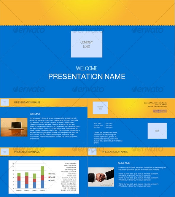 A Presentation Full of Energy - Creative PowerPoint Templates