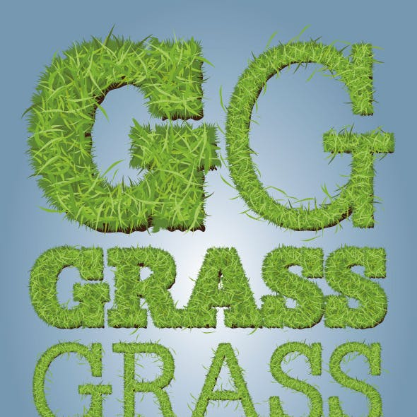 Grass Sod Illustrator Graphic Style