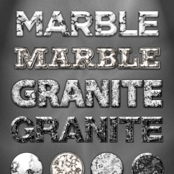 4 Marble and Granite Styles