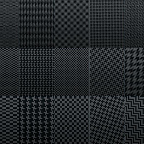 Fiber Carbon Pattern Background - Vol. 1