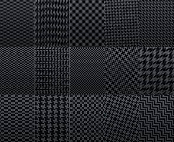 Fiber Carbon Pattern Background - Vol. 1 - Textures / Fills / Patterns Photoshop