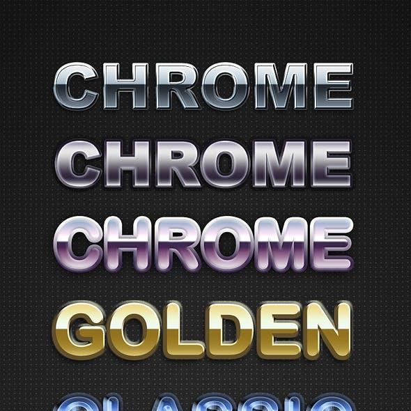 Chrome Layer Styles II