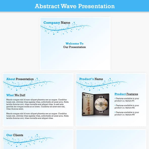 Abstract Wave Presentation