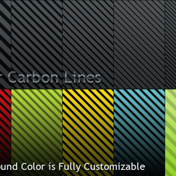 Fiber Carbon Lines Pattern - Vol-1