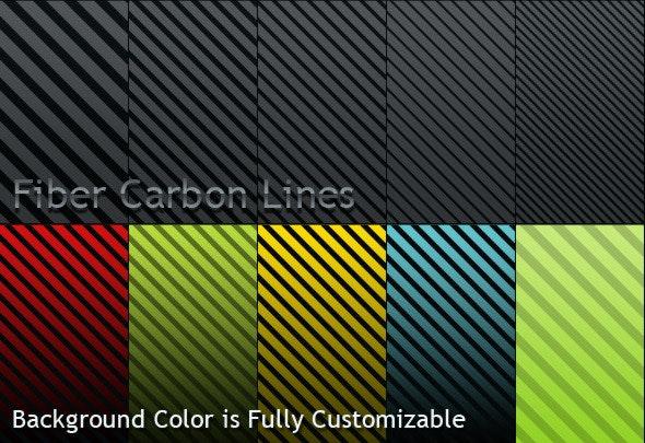 Fiber Carbon Lines Pattern - Vol-1 - Textures / Fills / Patterns Photoshop