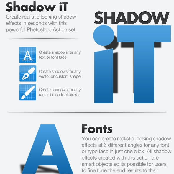 Shadow iT - Shadow Creator Actions Pack