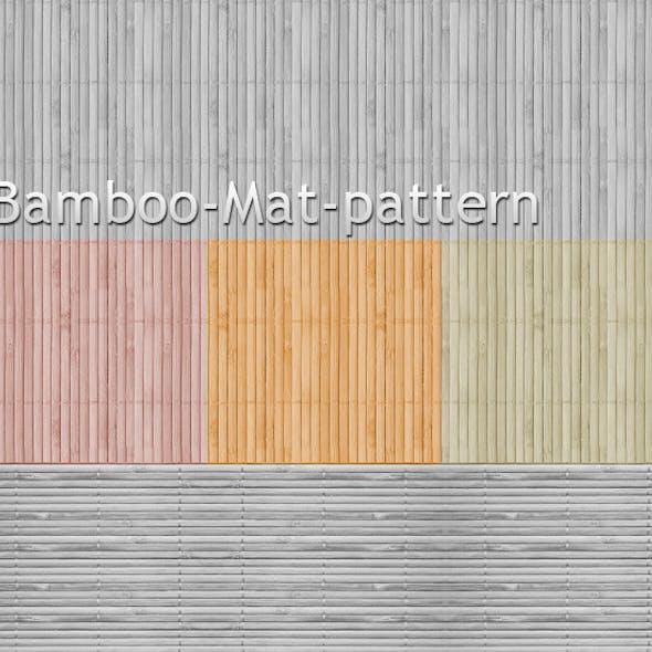 Bamboo Mat Pattern background