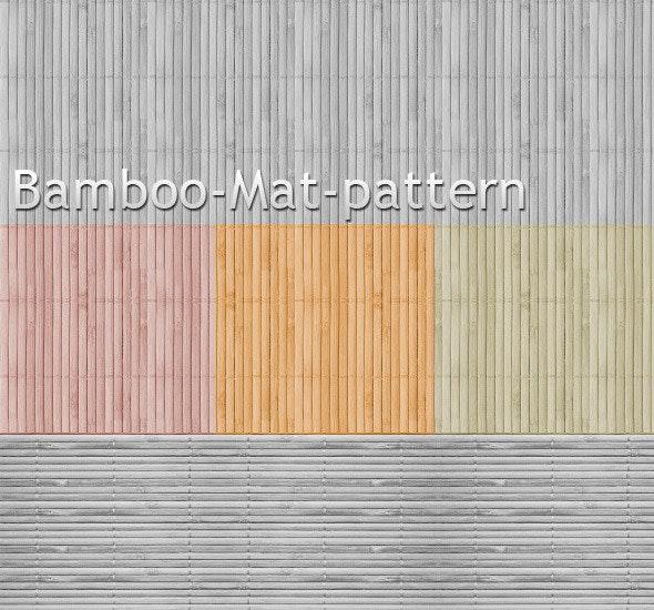 Bamboo Mat Pattern background  - Textures / Fills / Patterns Photoshop