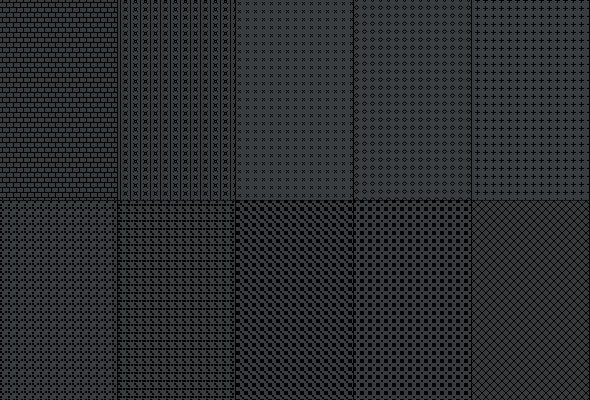 Fiber Carbon Pattern Background - Vol-5 - Textures / Fills / Patterns Photoshop