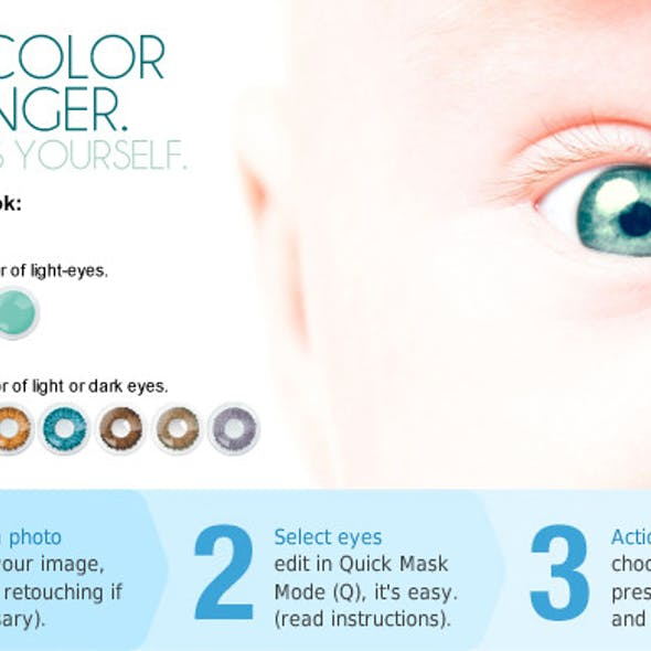 Eye color changer. PS ACTION.