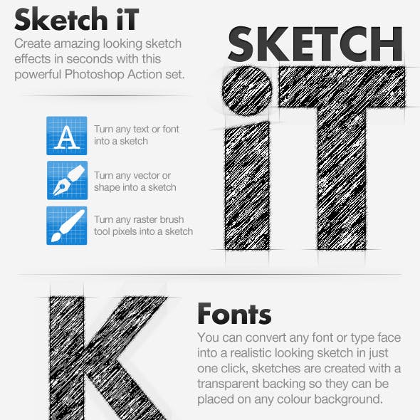 Sketch iT - Convert To Sketch