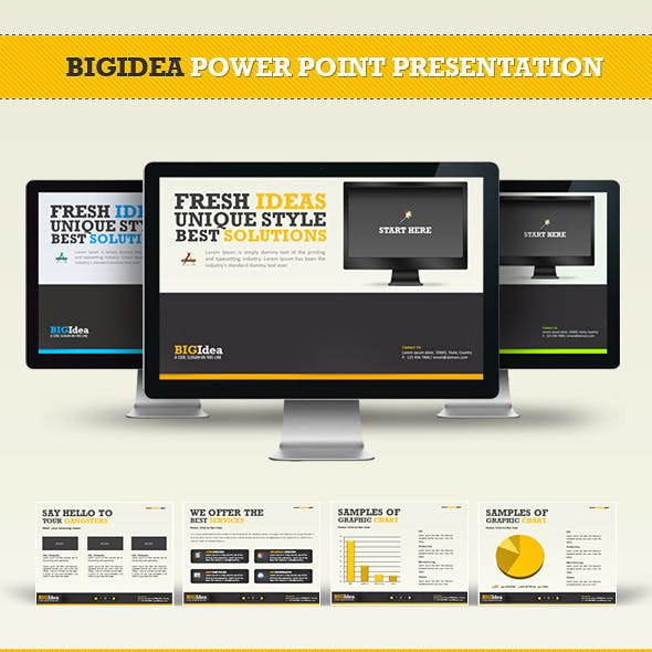 BIGIdea Power Point Presentation