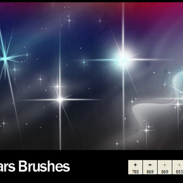 6 Star Brushes