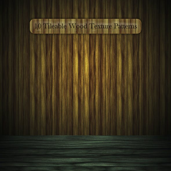 10 Tileable Wood Texture Patterns