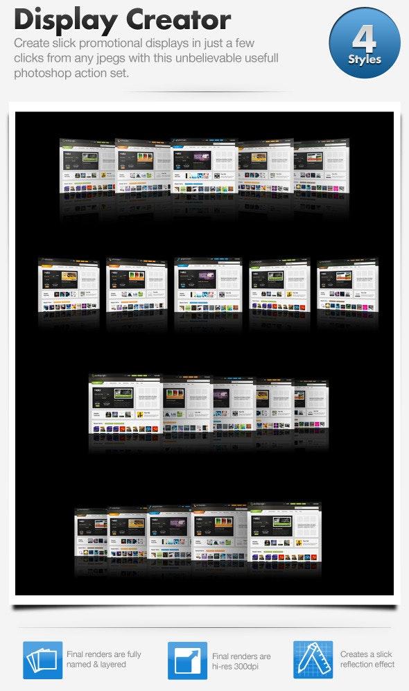 Web Promo Display Creator  - Utilities Actions