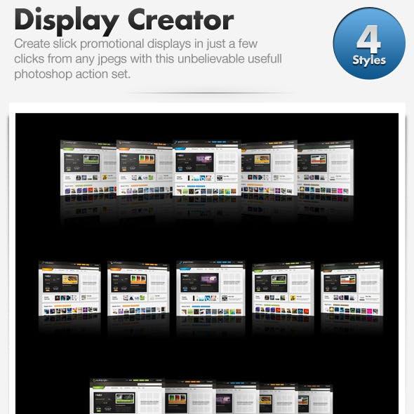 Web Promo Display Creator