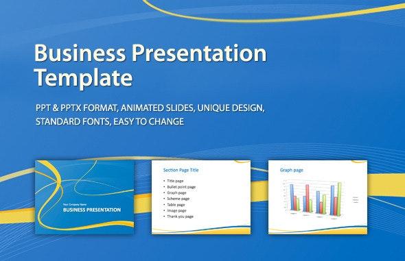Business Presentation Template - PowerPoint Templates Presentation Templates