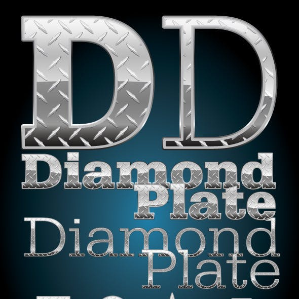 Diamond Plate Illustrator Graphic Style & Pattern