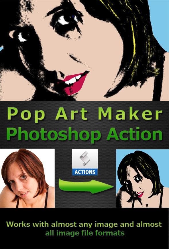 Pop Art Maker - Photoshop Add-ons
