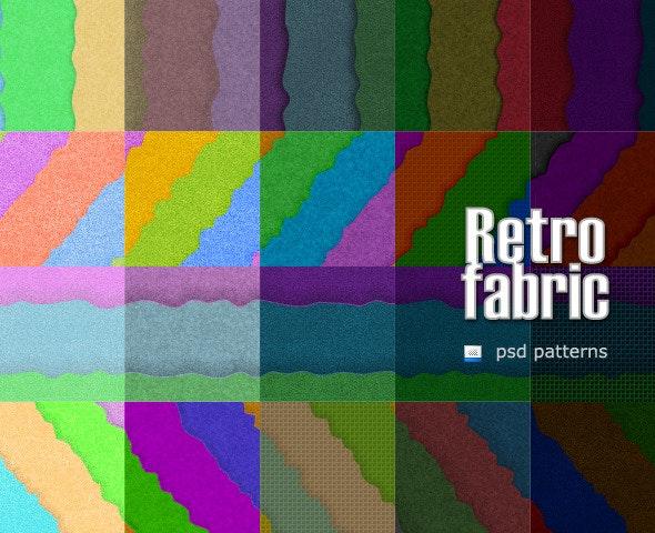 Retro Fabric - Artistic Textures / Fills / Patterns