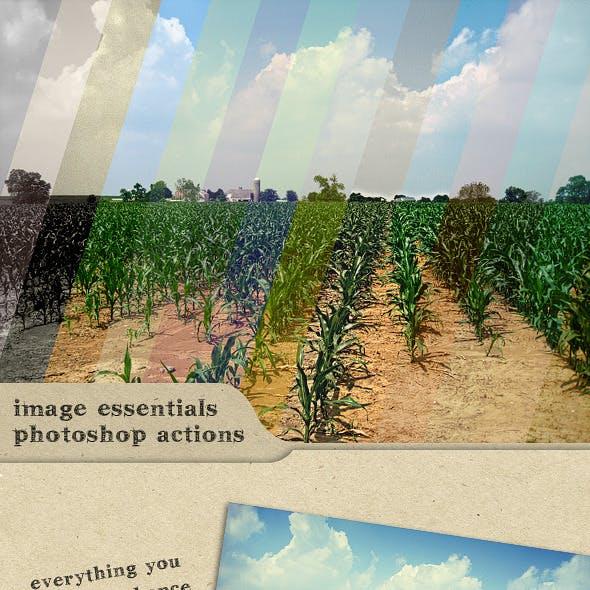Image Essentials : Photoshop Actions