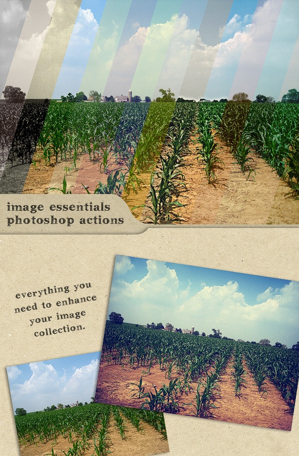 Image Essentials : Photoshop Actions - Photo Effects Actions