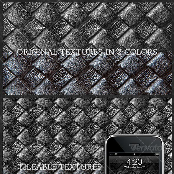 Tileable Leather: Woven Texture 3.0