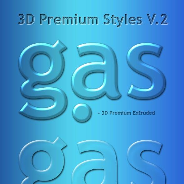 3D Premium Glass Styles V2