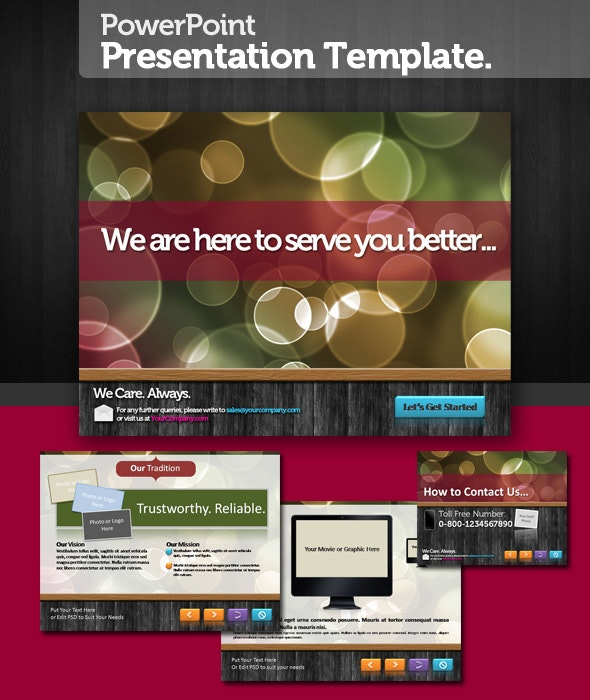 Perfecto PowerPoint Presentation Template - PowerPoint Templates Presentation Templates