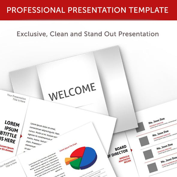 Professional Animated Power Point Template