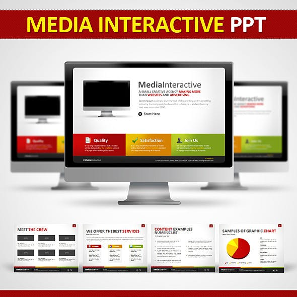 Media Interactive PPT - Power Point