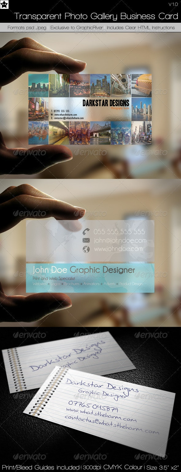 Business Cards 3 in 1 Bundle 3 - Creative Business Cards