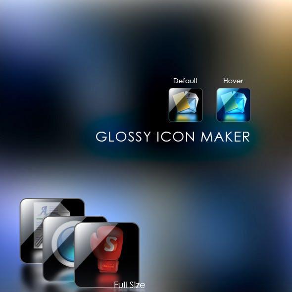 Glossy Icon Maker