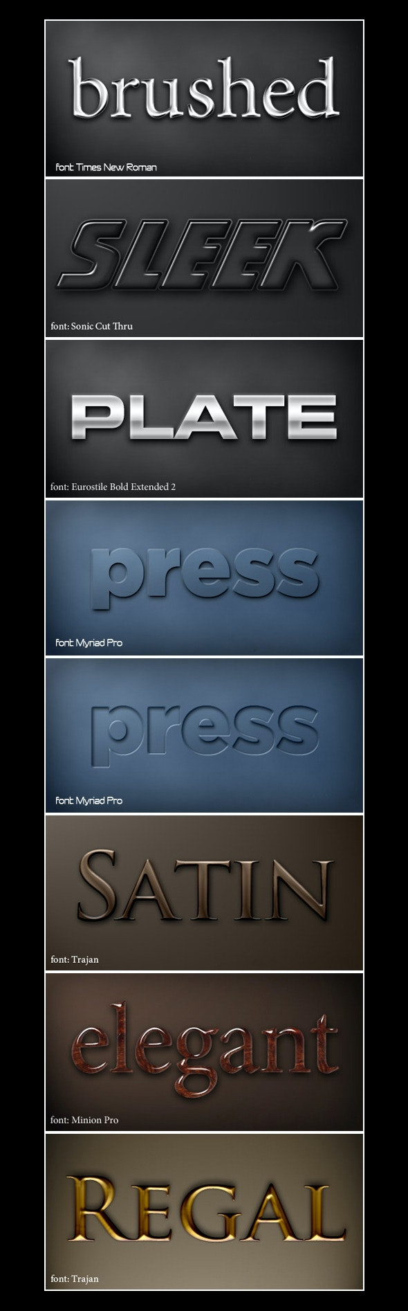 Vision Xpression Style - Text Effects Styles