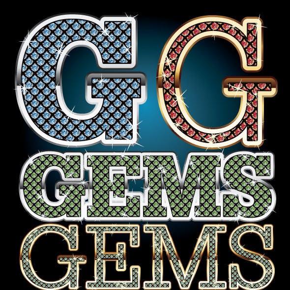 Gems Illustrator Graphic Styles