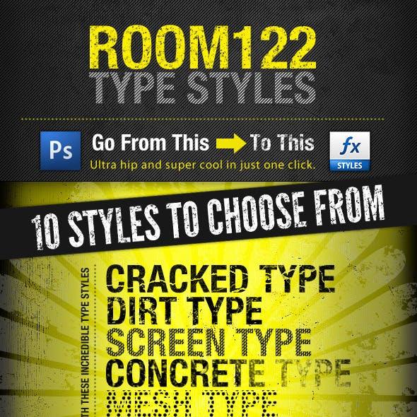 Room122 Type Styles
