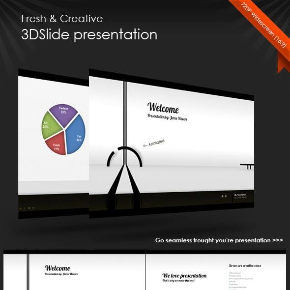 Fresh 3DSlide Presentation (HD)