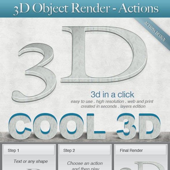 3D Object Render