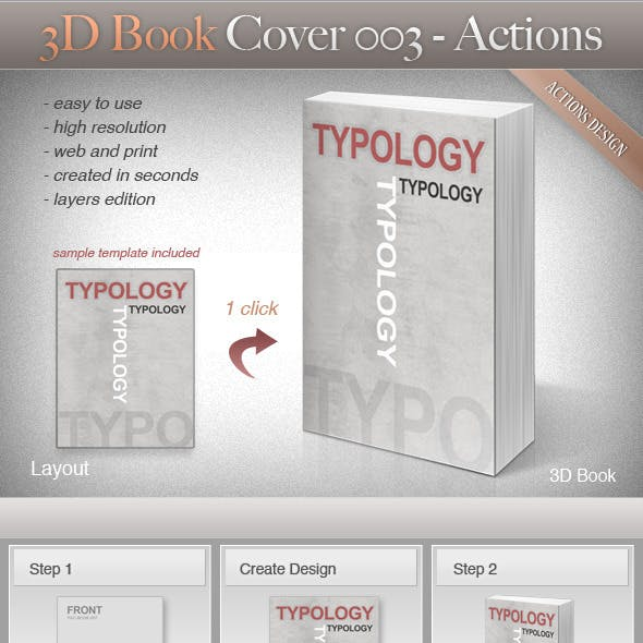 3D Book Cover 003