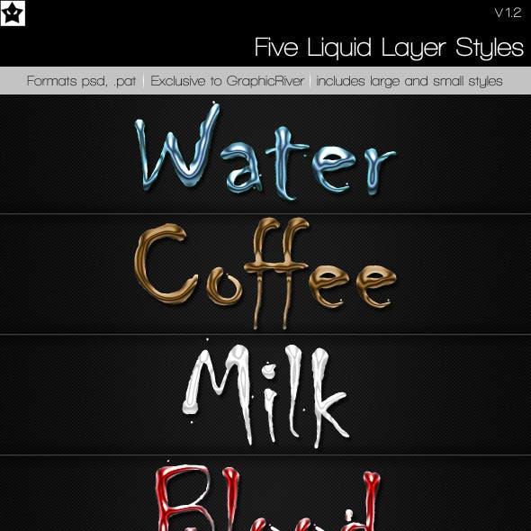 5 Liquid Layer styles