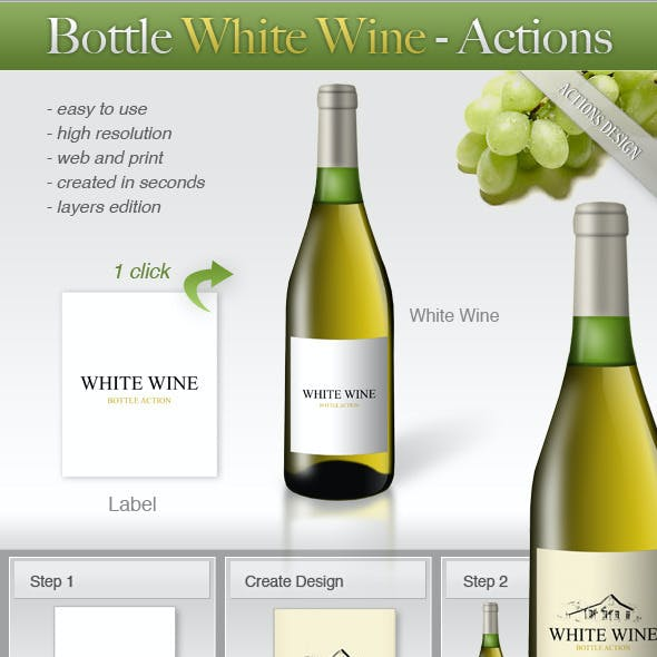 Bottle White Wine
