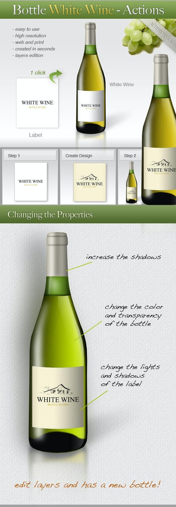 Bottle White Wine - Utilities Actions