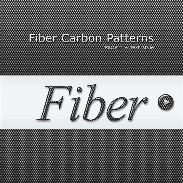 Fiber Carbon Pattern Background - Vol-7