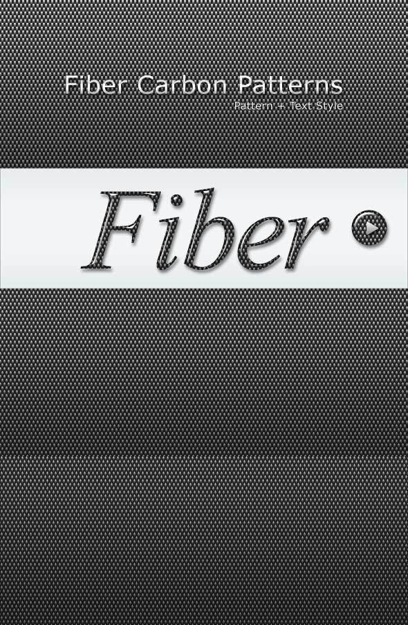 Fiber Carbon Pattern Background - Vol-7 - Techno / Futuristic Textures / Fills / Patterns