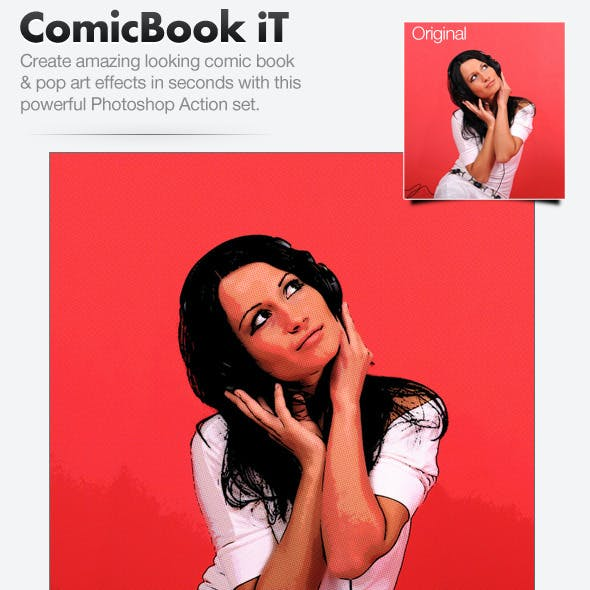 ComicBook iT - Comic Book Image Coverting Action