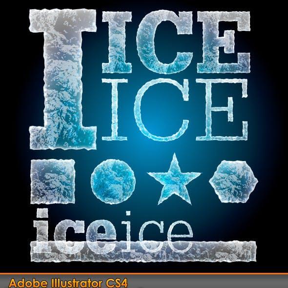 Ice Illustrator Graphic Style