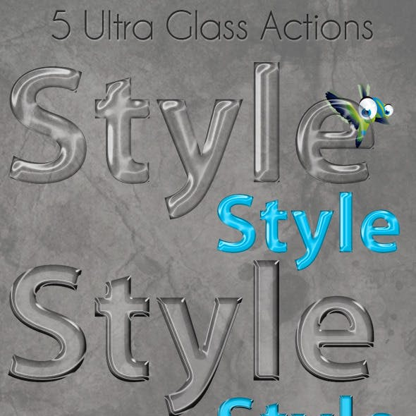 Ultra Glass Actions